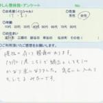 吉川市にお住いのT・I様(40代・女性)