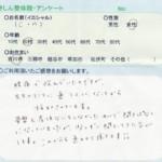 吉川市にお住いのC・M様(20代・女性)